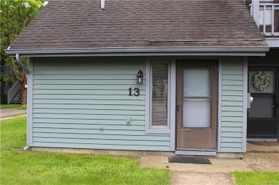 Ellicottville Condo/Townhouse For Sale: 13 Wildflower Apts