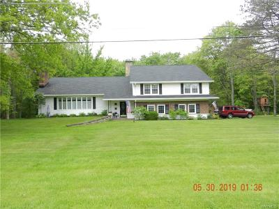 Hamburg Single Family Home For Sale: 6518 Old E Eden Road
