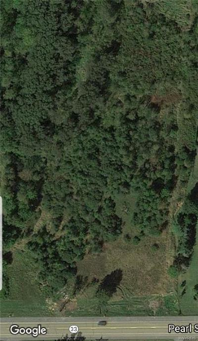 Genesee County Residential Lots & Land A-Active: 2977 Pearl Street Road