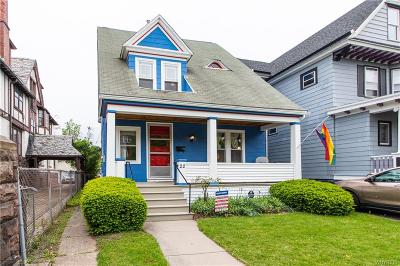 Buffalo Single Family Home Active Under Contract: 22 Greenwood Place