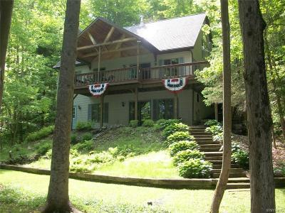 Allegany County, Cattaraugus County Single Family Home U-Under Contract: 8330 County Road 49 Road