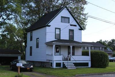 Genesee County Single Family Home For Auction: 268 Bank Street