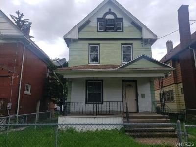 Niagara Falls Single Family Home For Sale: 1858 Willow Avenue