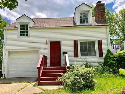 Single Family Home For Sale: 319 Nassau Avenue