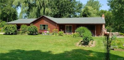 Orleans County Single Family Home A-Active: 13565 Ridge Road West