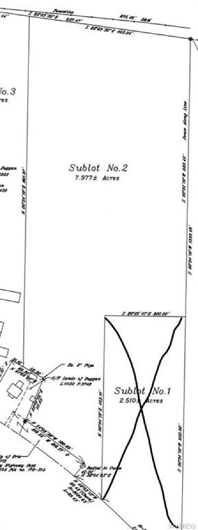 Erie County Residential Lots & Land A-Active: Taylor (Lot 2) Road