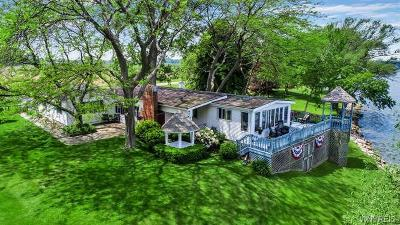 Orleans County, Monroe County, Niagara County, Erie County Single Family Home A-Active: 14607 Lakeshore Road