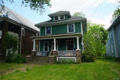 Niagara County Single Family Home U-Under Contract: 427 9th Street