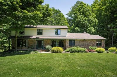Orleans County, Monroe County, Niagara County, Erie County Single Family Home A-Active: 1941 Three Rod Road