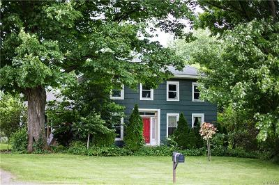 Genesee County Single Family Home A-Active: 7676 Route 237