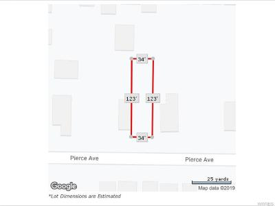 Niagara County Residential Lots & Land A-Active: 1324 Pierce Avenue