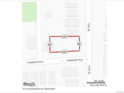Niagara County Residential Lots & Land A-Active: 1222 Haeberle Avenue
