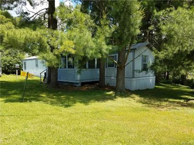 Warsaw Single Family Home For Sale: 3408 State Route 19