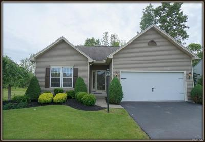 Amherst Single Family Home For Sale: 192 Dockside Parkway