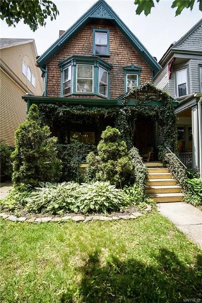 Buffalo Single Family Home For Sale: 360 Ashland Avenue