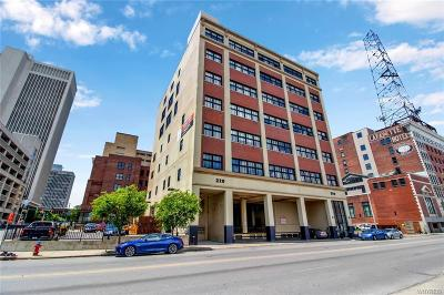 Buffalo Condo/Townhouse For Sale: 210 Ellicott Street #704