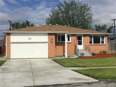 Cheektowaga Single Family Home For Sale: 69 Bernice Drive