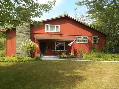 East Aurora Single Family Home For Sale: 125 Blake Hill Road