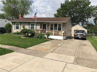 Cheektowaga Single Family Home For Sale: 23 Rogers Drive