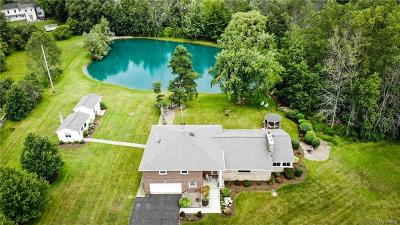 Clarence Single Family Home For Sale: 8876 County Road