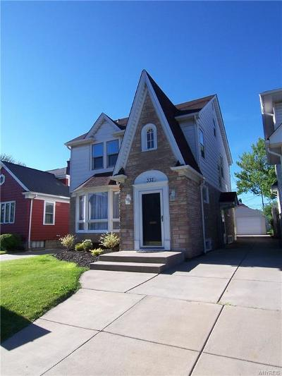 Erie County Single Family Home For Sale: 332 McKinley Avenue