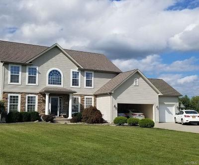 Wheatfield Single Family Home Pending: 3865 Wildwing Drive