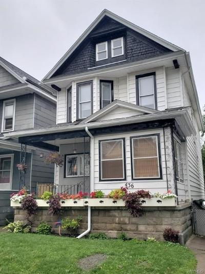 Buffalo Single Family Home For Sale: 436 Baynes Street