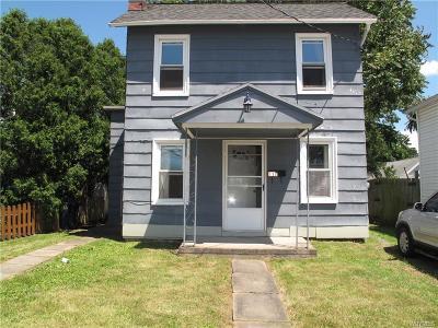 Lockport-City Single Family Home Pending: 112 Harvey Avenue