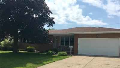 West Seneca Single Family Home For Sale: 58 Sibley Drive