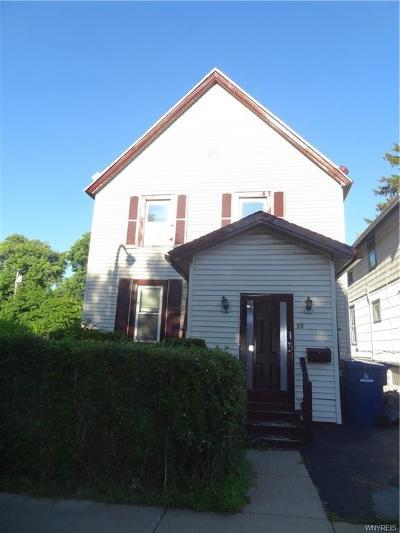 Buffalo Single Family Home For Sale: 55 Hager Street