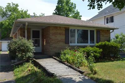 North Tonawanda Single Family Home For Sale: 339 Stanley Street