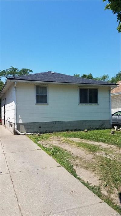 Buffalo Single Family Home For Sale: 78 Saint Marys Road