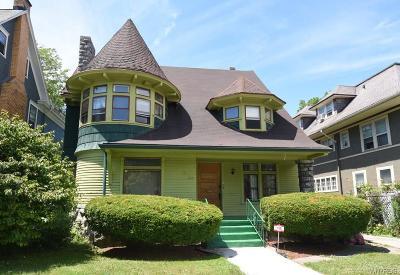 Buffalo Single Family Home For Sale: 260 Crescent