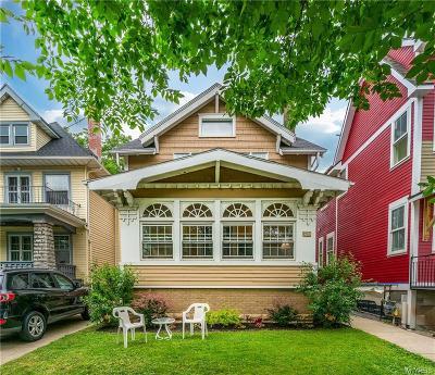 Buffalo Single Family Home For Sale: 726 Linwood Avenue
