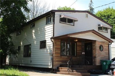 Niagara Falls Single Family Home For Sale: 422 77th Street