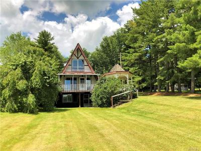 Castile Single Family Home For Sale: 3925 Luther Road