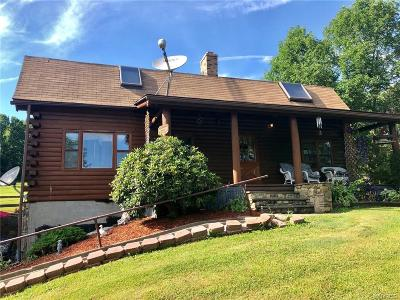 Cattaraugus County Single Family Home For Sale: 2140 Union Valley Road
