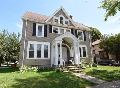 Buffalo Single Family Home For Sale: 51 Woodward Avenue