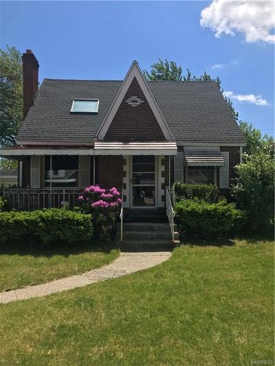 Cheektowaga Single Family Home For Sale: 45 Tudor Road