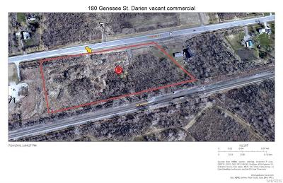 Genesee County Residential Lots & Land For Sale: 180 Genesee Street