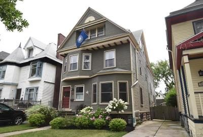 Buffalo Single Family Home Pending: 521 Ashland Avenue
