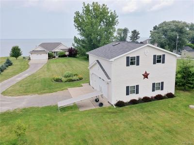 Orleans County Single Family Home For Sale: 10609 Lakeshore Road