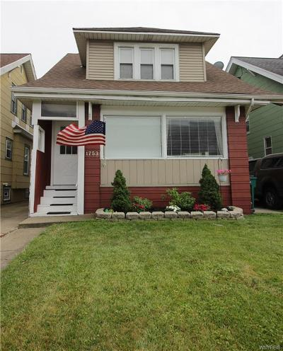North Buffalo Single Family Home Pending: 1753 Hertel Avenue