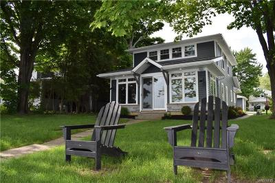 Erie County Single Family Home For Sale: 424 Lakeside Road