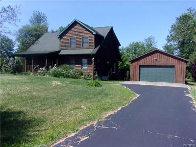 Niagara County Single Family Home For Sale: 4972 Baer Road