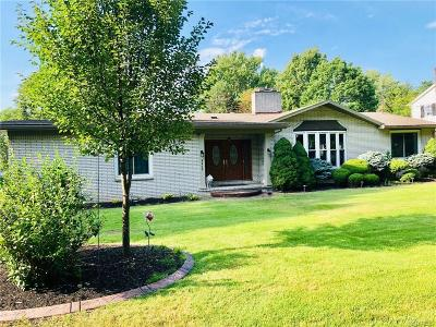 Hamburg Single Family Home For Sale: 4464 Crestridge Drive