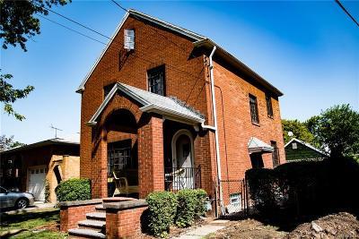 Niagara Falls NY Single Family Home For Sale: $60,000