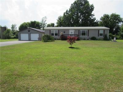 Orleans County Single Family Home Active Under Contract: 2422 S Lyndonville Road