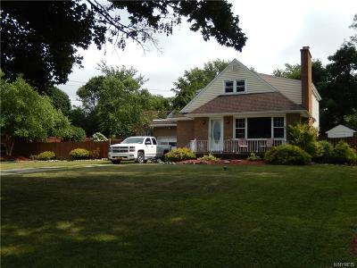 Hamburg Single Family Home For Sale: 5733 Old Lake Shore Road