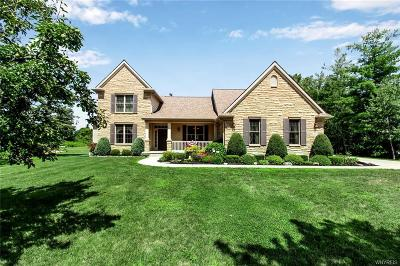 Niagara County Single Family Home Pending: 6812 Bear Ridge Road